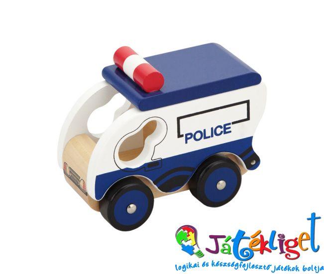 Rendőrautó – Fajáték