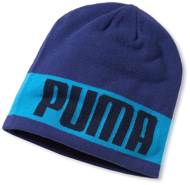 Benefit from two great looks on the golf course with this high quality womens blue cliffe reversible golf beanie hat by Puma!