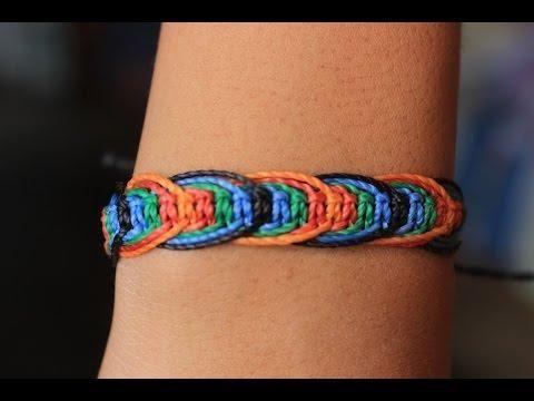 Si coleccionas pulseras de macramé, ¡añade este diseño a tu colección! Sigue el paso a paso.