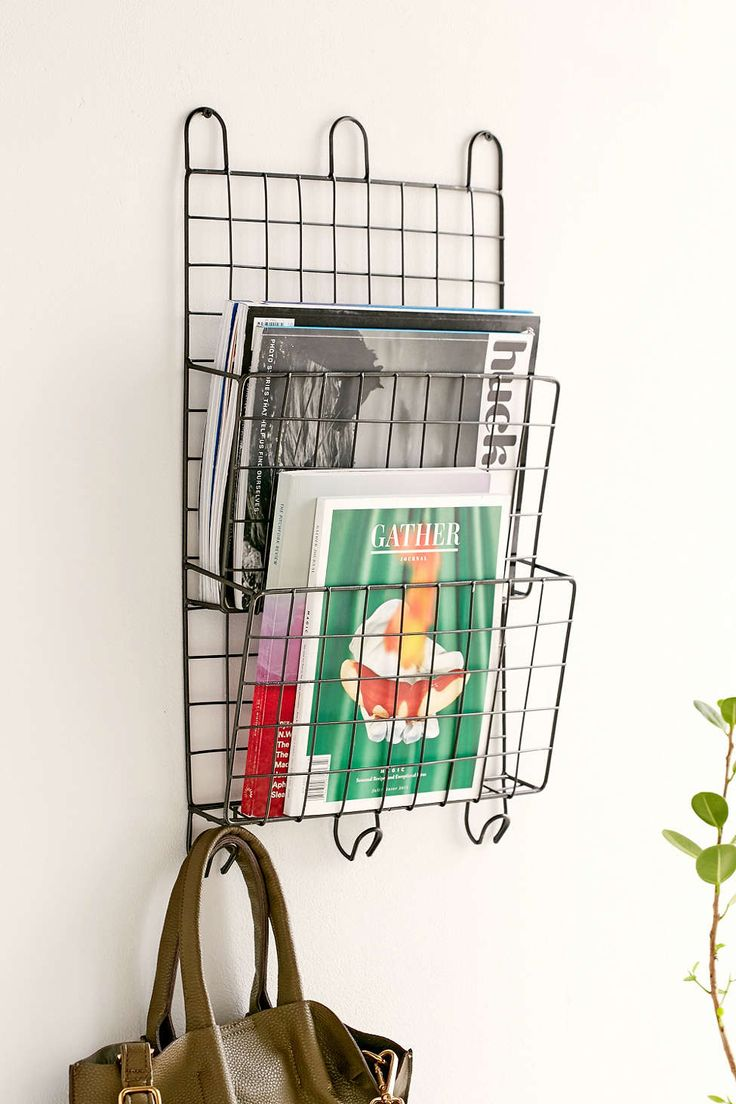 Darby Wire Hanging Organizer - Urban Outfitters