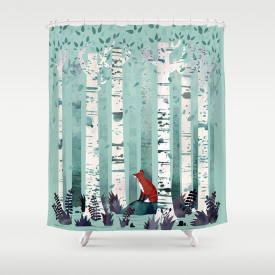 17 Best ideas about Tree Shower Curtains on Pinterest
