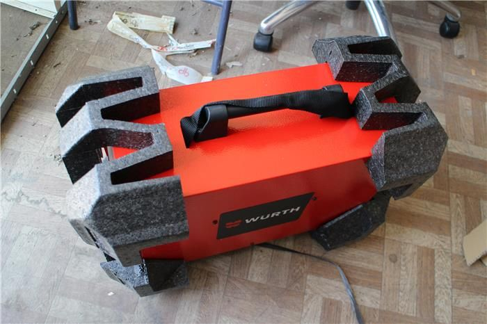 Karner & Dechow Industrie Auktionen - WIG-Schweissgerät Würth 180 A, neuwertig, in Originalkarton, Stromstärke Elektroden-Schweißen max.: 150 A, Stromstärke W - Postendetails