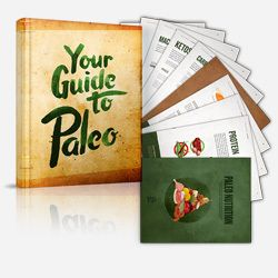 A great guide to start the Paleo diet plan with - everything you need to know about the Paleo diet, losing weight naturally and healthy eating
