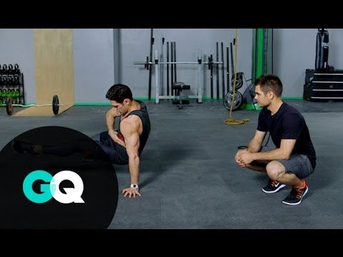 BOOT CAMP: Abdominal Workout with Noah Neiman - GQ's Fighting Weight - YouTube