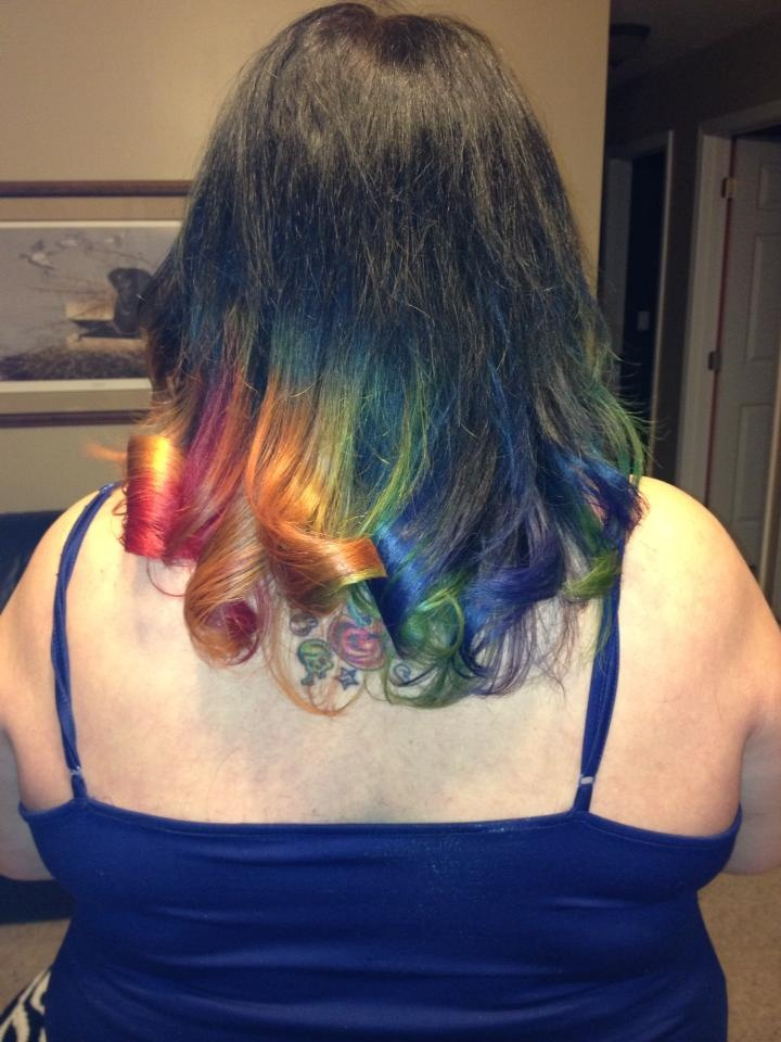 Fresh color by Angie Mayhugh of Regis Hair Salon in Ky Oaks Mall, Paducah, KY