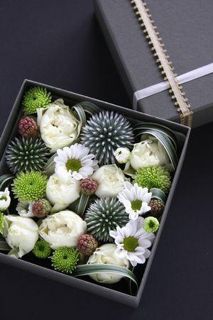 Box Of Flowers.