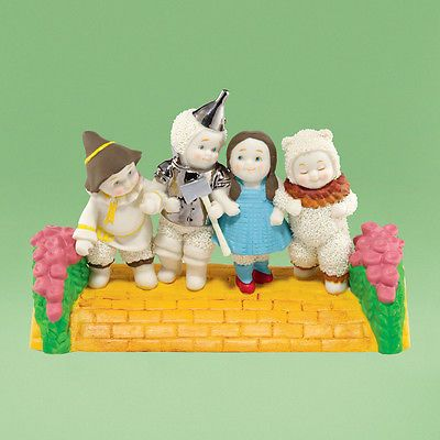 Dept 56 Christmas Snowbabies Off To See the Wizard Of Oz Dorothy Scarecrow 2013