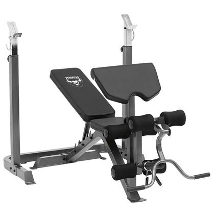 torros pro55 deluxe weight bench  workout accessories