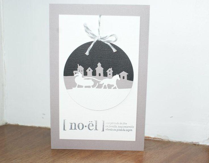 carte boule de noel : Cartes par bidouilles-and-co