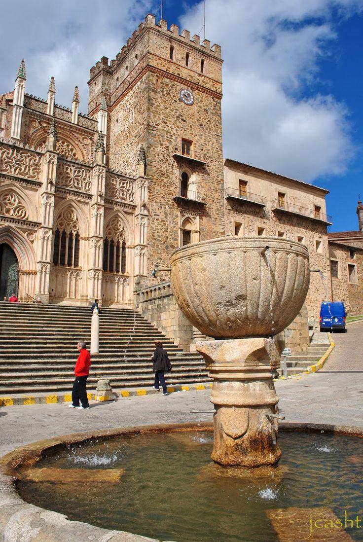 Monasterio de Guadalupe., Cáceres Extremadura Spain