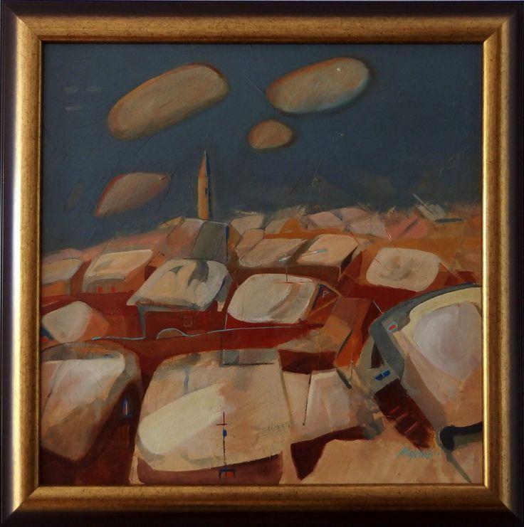 ladislav majorosi - ticho, akryl na sololite, 2003