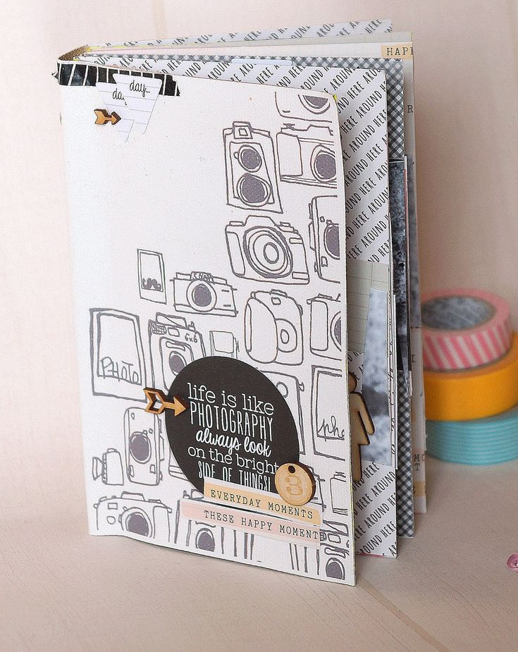 Le scrap d 'Opsite: Mini album Clean and simple avec structure toilée , DT Mini'Mum
