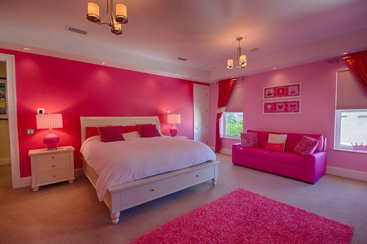 big pink bedroom teen bedroom interior design by ruth stieren baer 10840