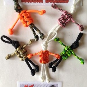 Rescue buddies;paracord people tutorial
