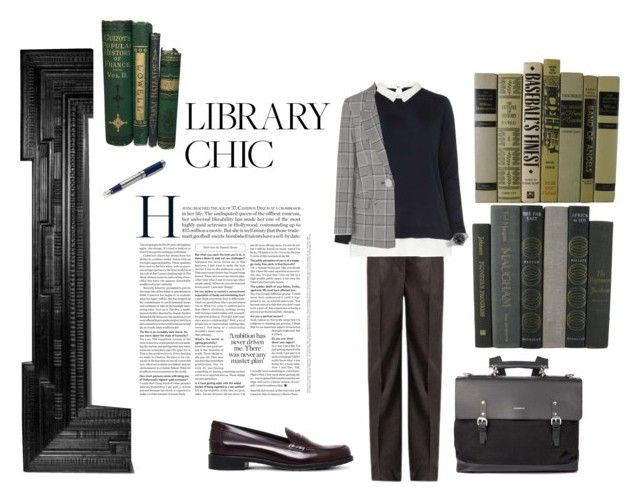 """""""Tomboy"""" by ilarial1 ❤ liked on Polyvore featuring The Row, Dorothy Perkins, Versus, Alexander Wang, Tod's and Linda Horn"""