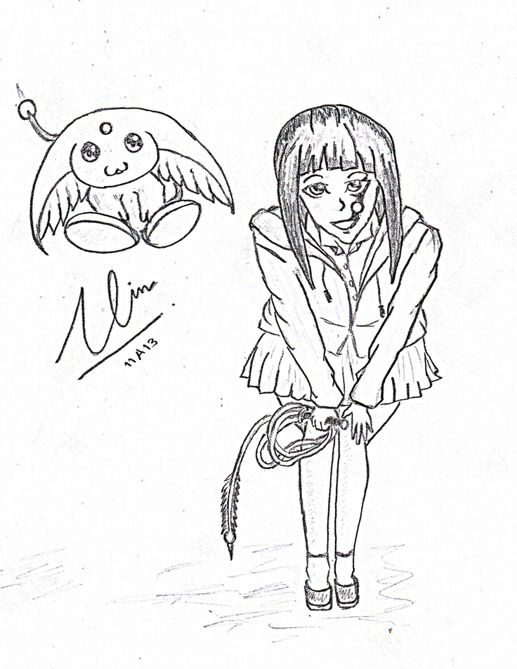 """EXOVIC"" character: name : Oria cloth : hoodie (lvl 1) weapon : whip char mark : O pet : Foo"