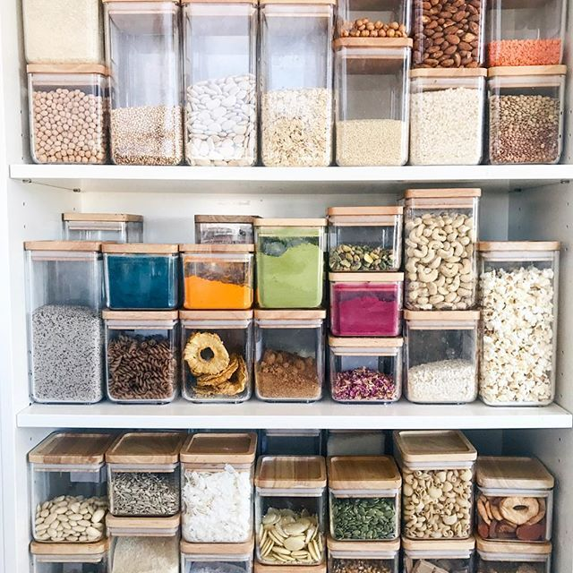 Major #zerowaste, bulk ingredients pantry inspiration!