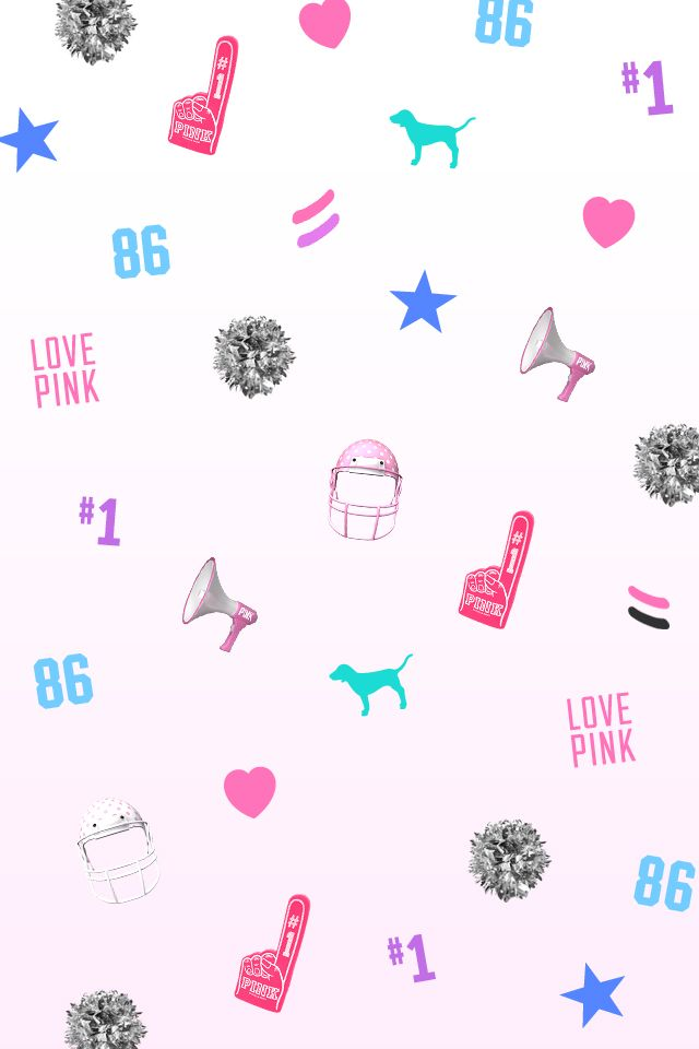 VS wallpaper   Victoria s Secret wallpapers    We Heart It   pink. 17 Best images about Victoria s Secret Pink wallpapers on