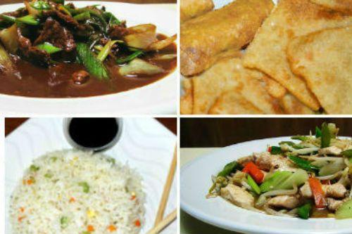 Menú Tradicional para 3  1 Wantan Frito 1 Arrollado Primavera 1 Carne Mongoliana 1 Chapsui de Pollo 1 Chapsui de Carne 3 Arroz Chaufán