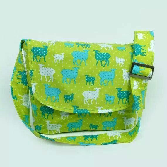 Modern Whimsy Messenger Bag - Plus Size - Curvy Fashion - Bold - Unique - Renegade