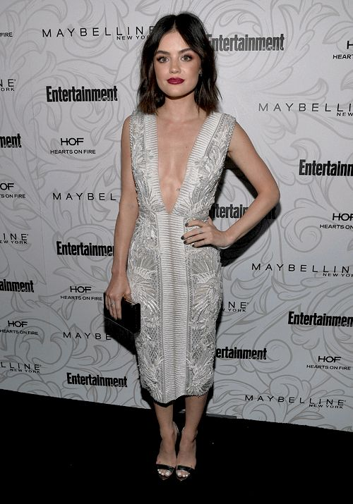 Lucy Hale at the Entertainment Weekly Celebrates the SAG Award Nominees at Chateau Marmont in LA 1/28/17.