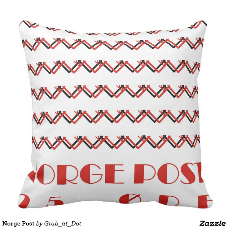 Cottage, cushions, fjords, font, norway, norwegian, øre, post, stamp, pillows, red, black, Oslo...