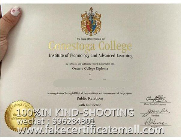 Buy A Degree Conestoga College Degree Certificate Fake Diplomas College Fake Degree Transcripts Fakecertifi College Diploma Advanced Learning Public University
