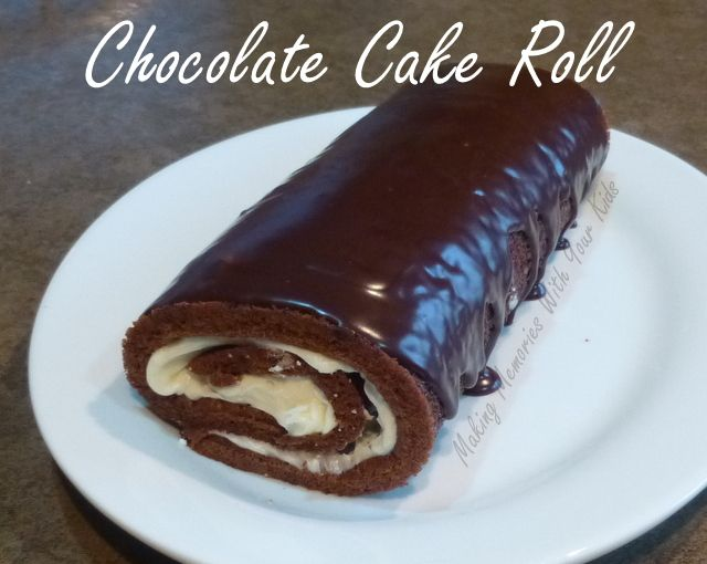 Cake Mix Jelly Roll Recipe: Cakes & Donuts On Pinterest