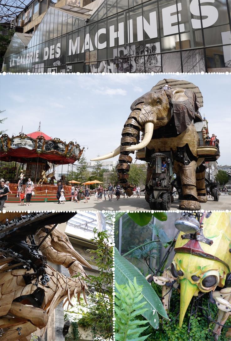 Nantes, je veux y aller pour voir ces machines!