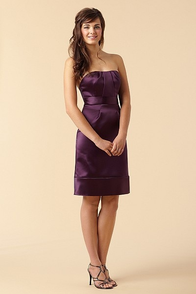 Beautiful bridesmaids dress & hey I'm not opposed to purple one day =) Go Ravens!