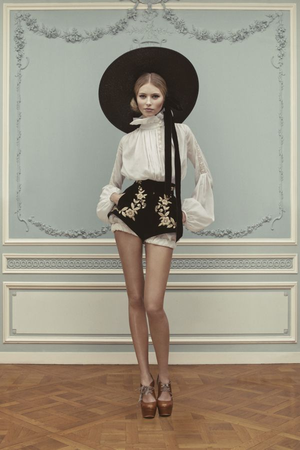 Ulyana Sergeenko Haute Couture Spring/Summer 2013 …