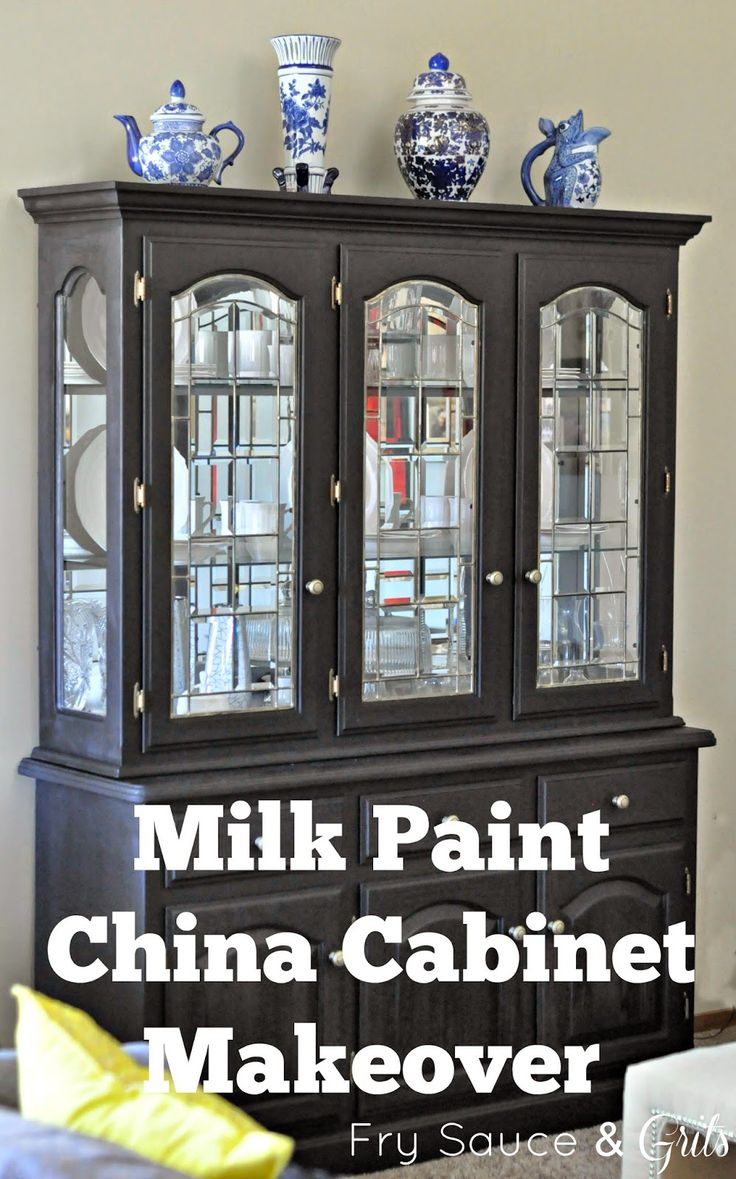 Modernize the look of outdated wood furniture with a coat of milk paint. Upgrade any space easily with this DIY project!