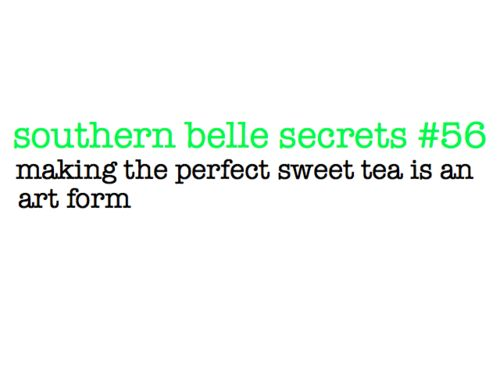 Southern Belle Secrets ;)