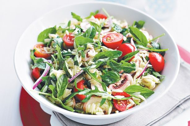 Throw together this easy salad for a simple lunch!