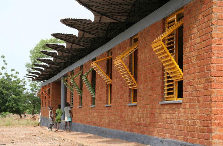 High school of dano zambia africa architecture for Architecture firms in zambia