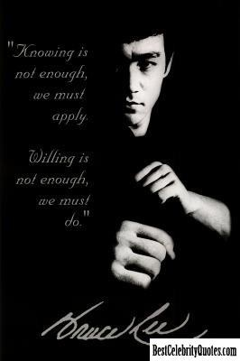 Bruce Lee #Quote