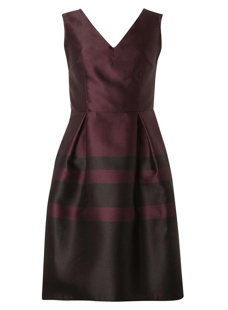 **Luxe Merlot Stripe Prom dress - Dorothy Perkins