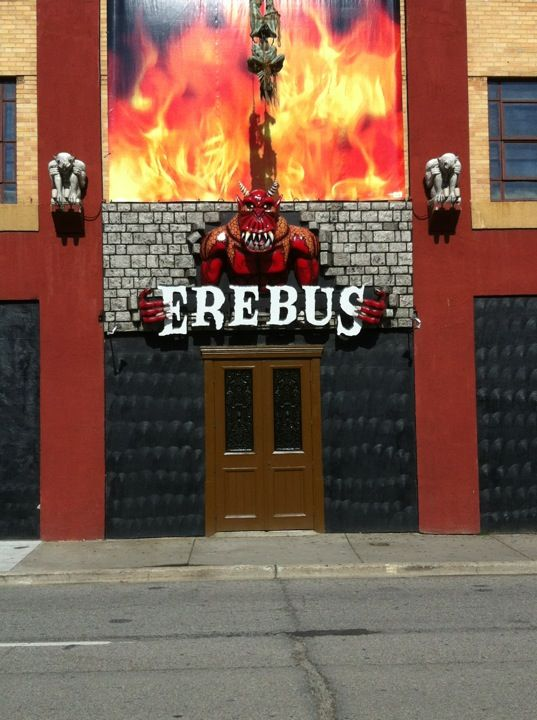 Erebus Haunted Attraction - Did you know that Michigan is home to the world's largest haunted house? Erebus, located in Pontiac, is a four story haunted house that was entered into the Guinness Book of World Records as the World's Largest Walk-Through Haunted Attraction in 2005.