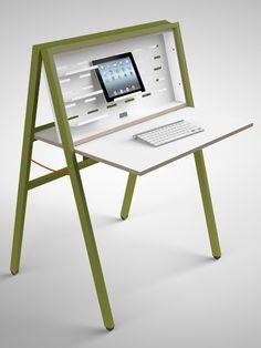 HIDEsk by Noroom | #design Michael Hilgers