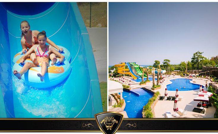 Kids reach their dreams... #Vogue #Hotel #Aquapark #kids #world
