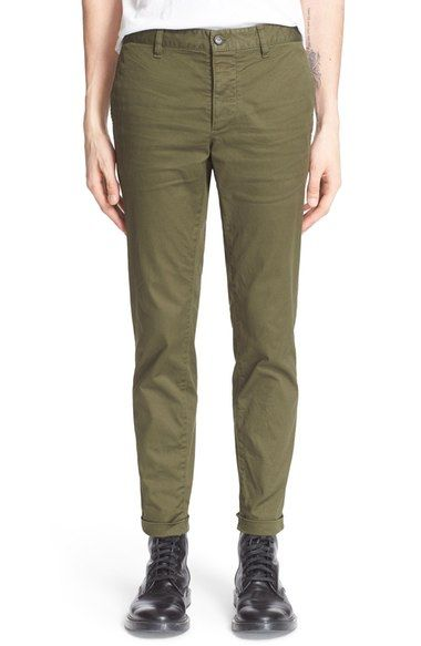 Dsquared2 Twill Military Pants available at #Nordstrom
