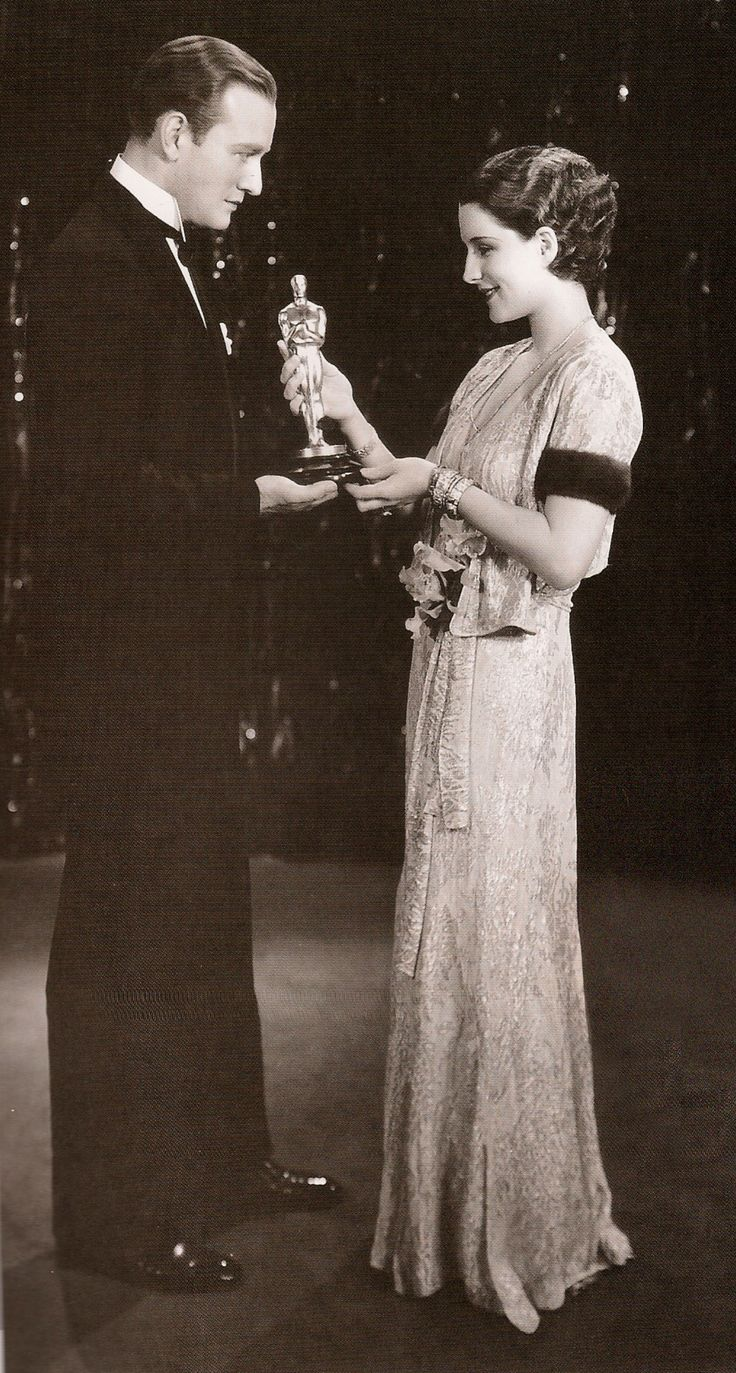 Norma Shearer at the 1930 Oscars-she is actress silent ...
