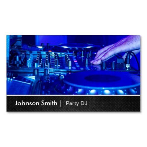 289 best DJ Business Cards images on Pinterest