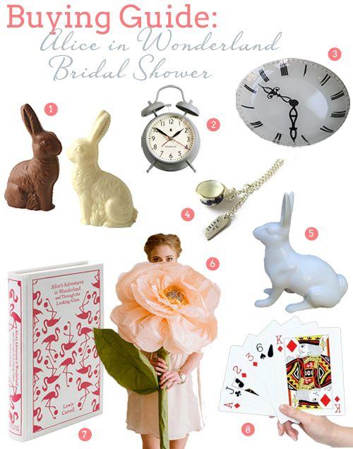 Shower Bridal Buying Wonderland Wonderland  rings                            Bridal Wonderland Alice Alice Bridal china Un Shower in   and Guide gold Shower     In