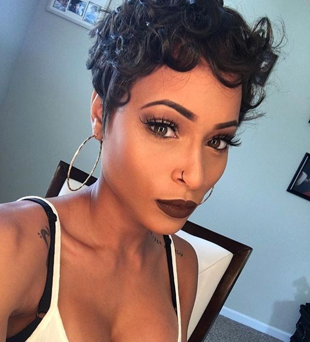 Super 1000 Images About Sassy Hairstyles On Pinterest Stylists Black Short Hairstyles For Black Women Fulllsitofus