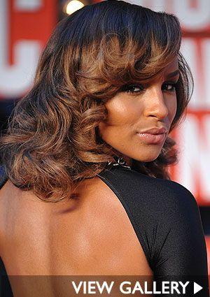 Dark Brown And Black Hair Highlights On African American