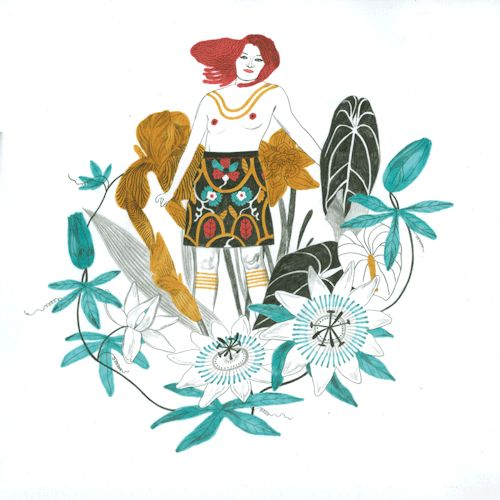the garden the wild women's series        sonia pulido illustrations