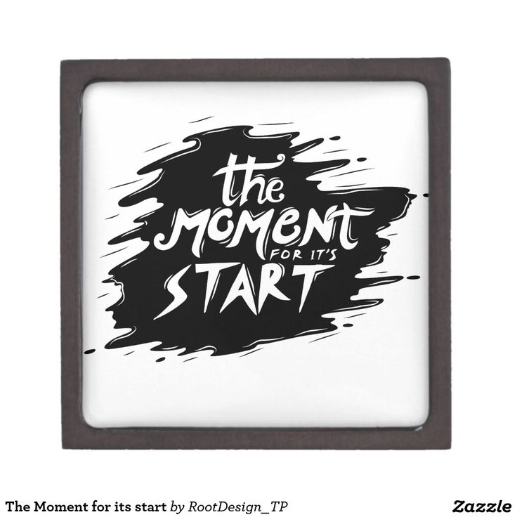 The Moment for its start Gift Box
