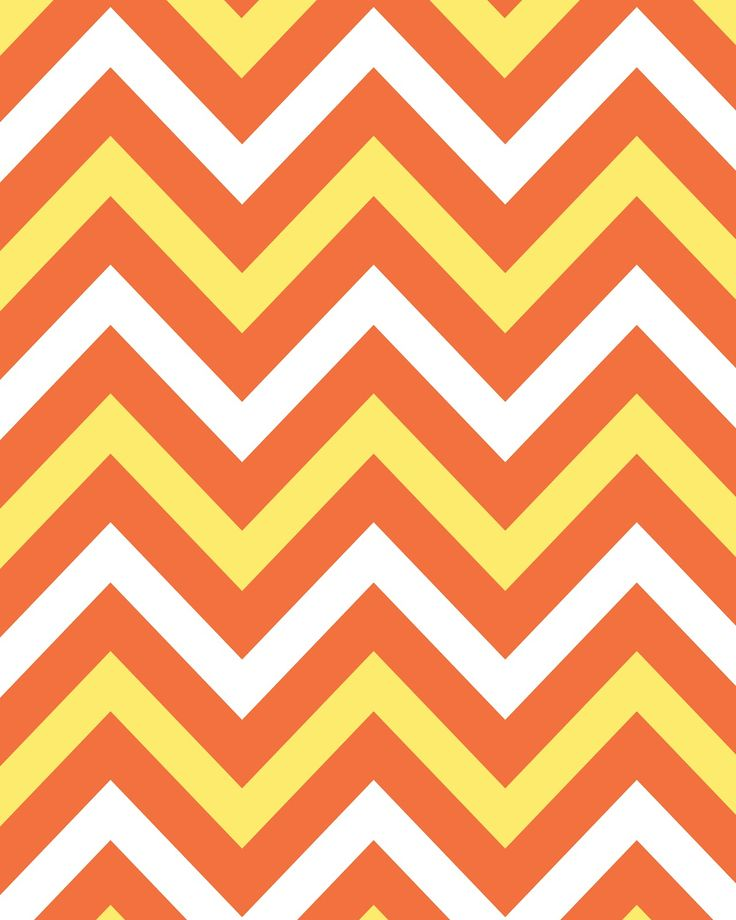 Printable...Candy Corn Chevron Candy Corn Colored Chevron 8x10 Background: Free Printable