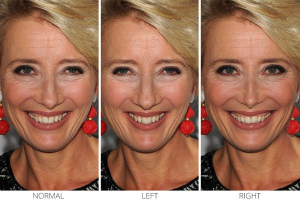 Facial Symmetry of Celebrities: Holiday 2013 Movie Edition | Emma Thompson